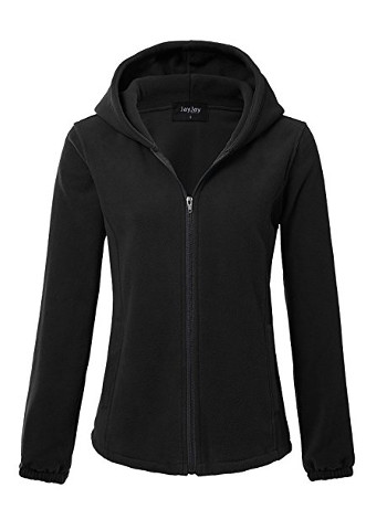 Women Ultra Soft Fleece Long Sleeve Hoodie Jacket
