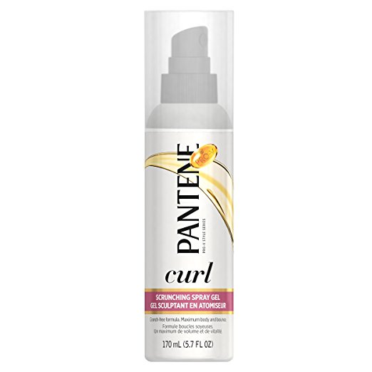 Pantene Pro-V Curly Hair Style Curl Enhancing Spray Hair Gel