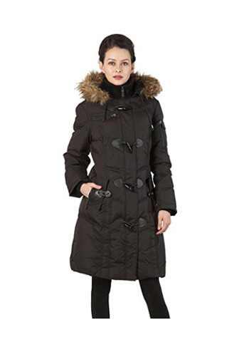 Water Resistant Quilted Down Toggle Coat
