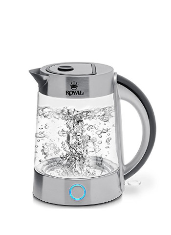 Royal Electric Kettle, Fast Boiling Glass Tea Kettle