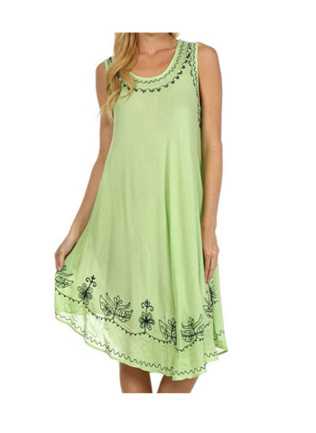 Sakkas Everyday Essentials Caftan Tank Dress