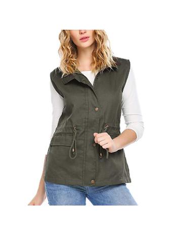 Lightweight Sleeveless Military Safari Utililty Anorak Vest