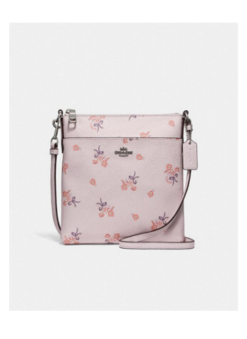 Kitt Messenger Crossbody With Floral Bow Print
