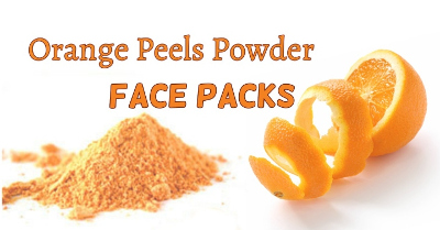 How can orange peels help dry skin?