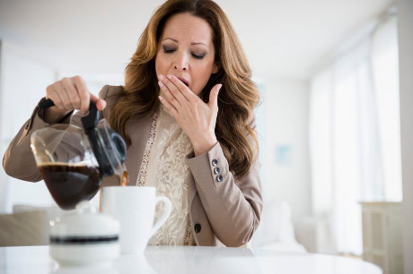 Why does Caffeine disrupt sleep?