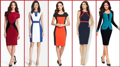 What is sheath dress style?