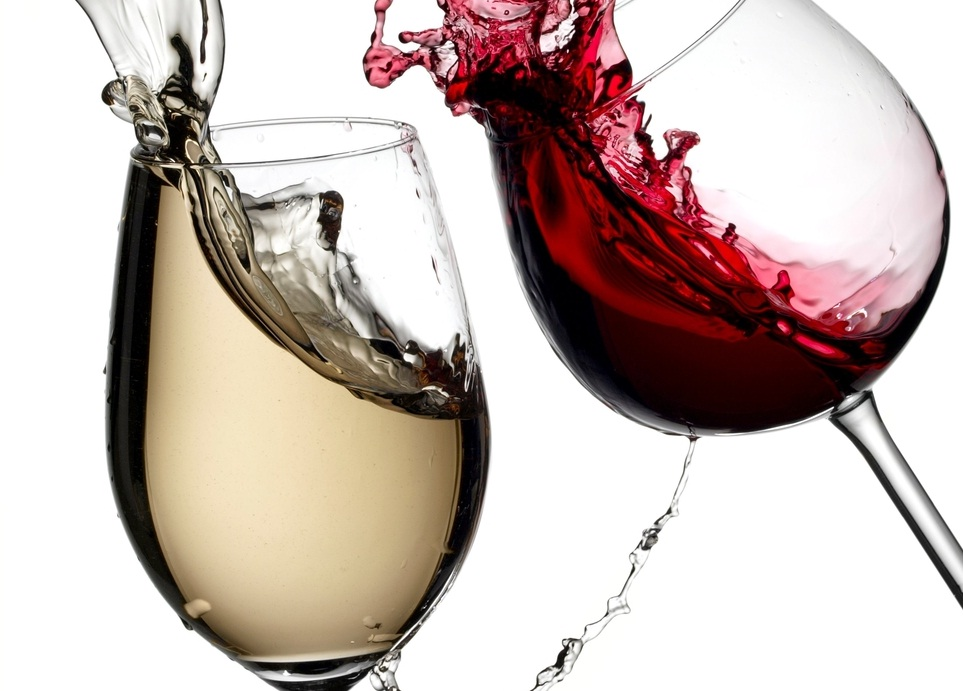 Use white wine to remove red wine stains.