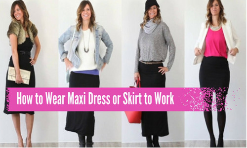 Have you ever tried wearing a maxi dress to work?