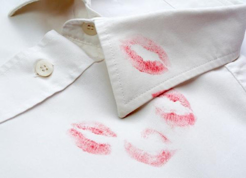Hairspray can remove lipstick stains.