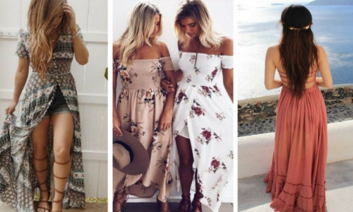 What is a maxi dress style?