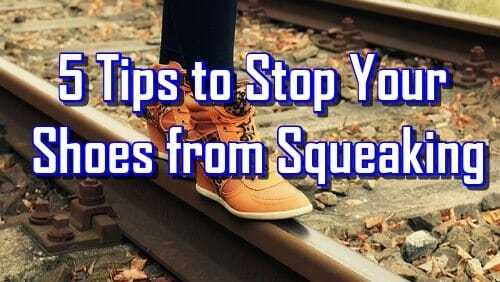 What causes shoes to squeak?