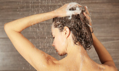 When do you suggest cold water for washing your hair?